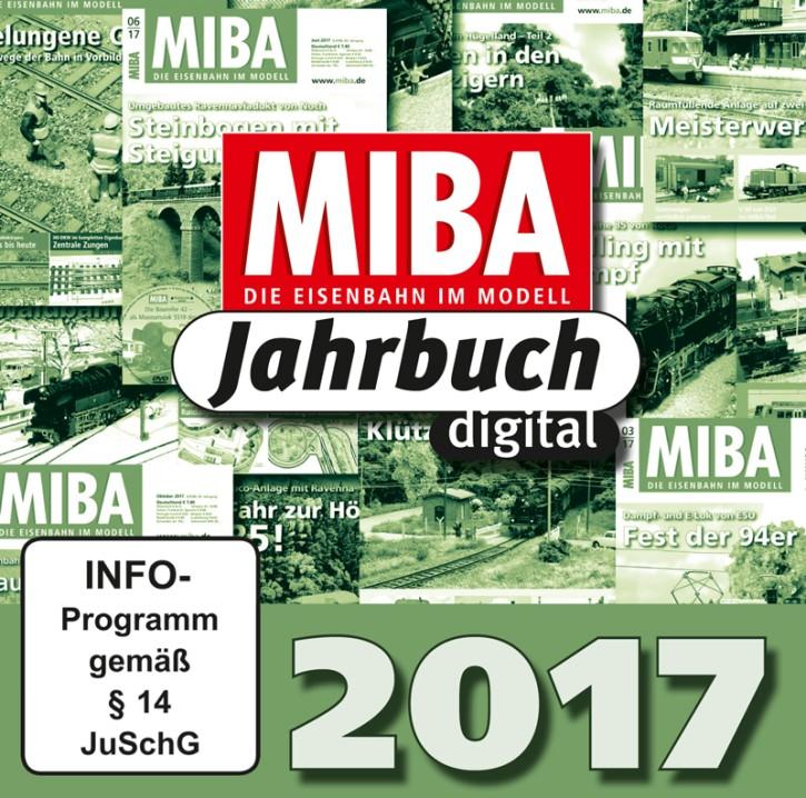 CD: MIBA-Jahrbuch 2017. Ein Jahr MIBA auf einen Klick