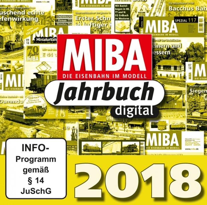 CD: MIBA-Jahrbuch 2018. Ein Jahr MIBA auf einen Klick
