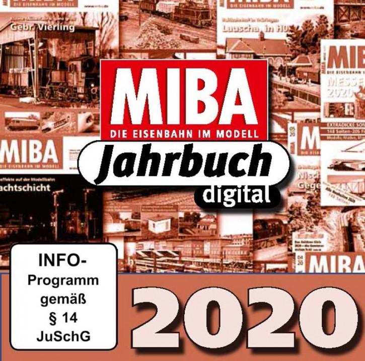 CD: MIBA-Jahrbuch 2020. Ein Jahr MIBA auf einen Klick