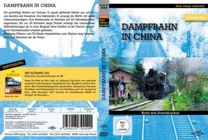 DVD: Dampfbahn in China. Reite den Feuerdrachen