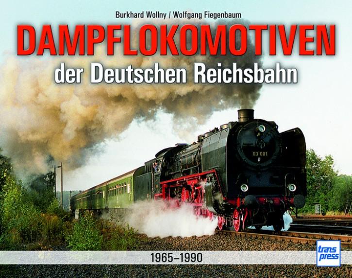 Dampflokomotiven der Deutschen Reichsbahn 1965-1990. Burkhard Wollny und Wolfgang Fiegenbaum