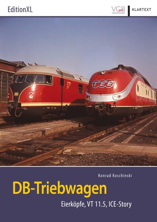 DB-Triebwagen. Eierköpfe, VT 11.5, ICE-Story. Konrad Koschinski