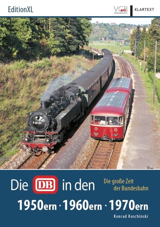 Die DB in den 1950ern, 1960ern, 1970ern. Die große Zeit der Bundesbahn