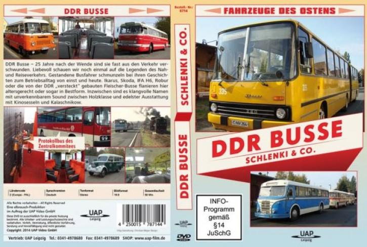 DVD: DDR Busse - Schlenki & Co. Fahrzeuge des Ostens