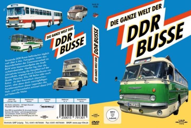 DVD: Die ganze Welt der DDR Busse