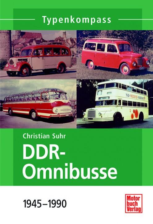 Typenkompass DDR-Omnibusse 1945-1990. Christian Suhr