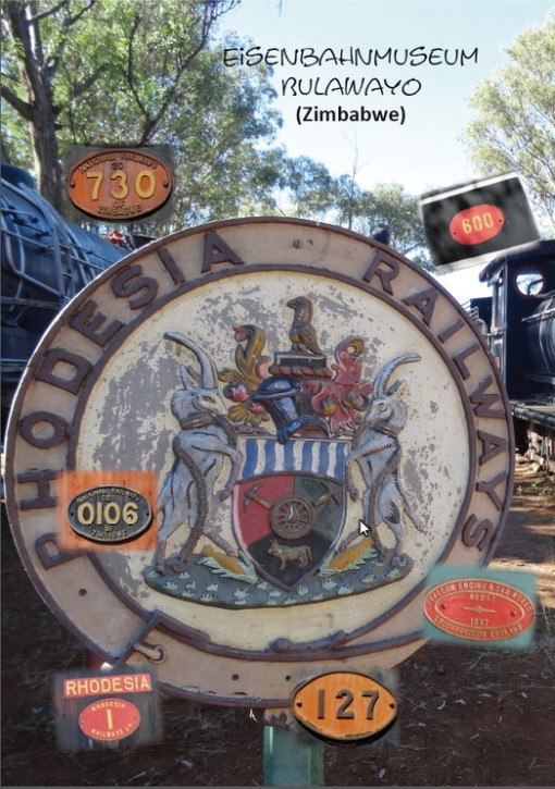Eisenbahnmuseum Bulawayo (Simbabwe). Günter Krause