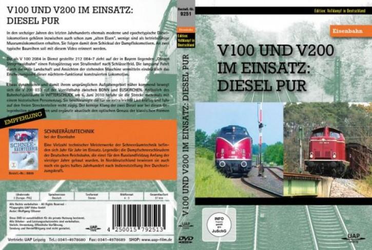 DVD: V 100 und V 200 im Einsatz. Diesel pur