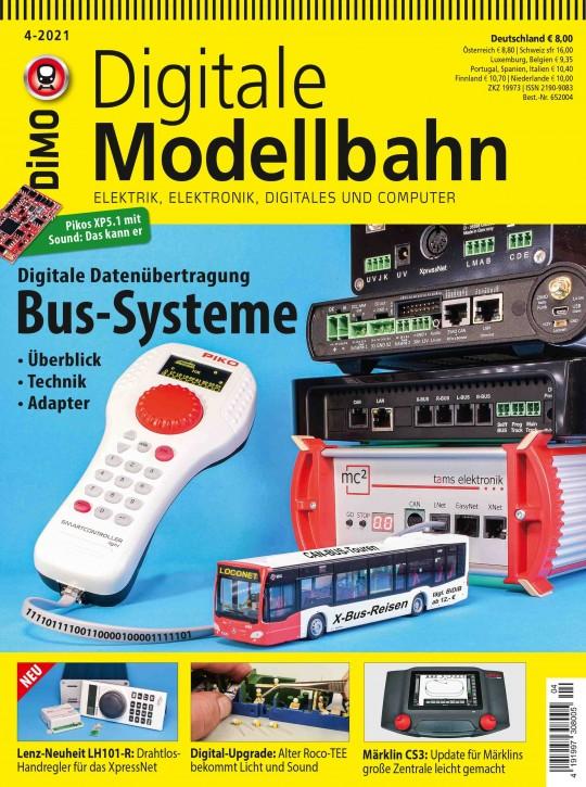 Digitale Modellbahn 4-2021: Bus-Systeme. Digitale Datenübertragung