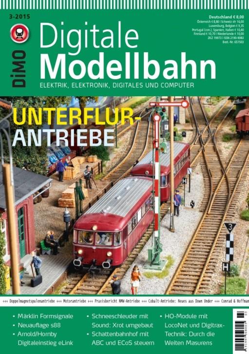 Digitale Modellbahn 3-2015. Unterflur-Antriebe