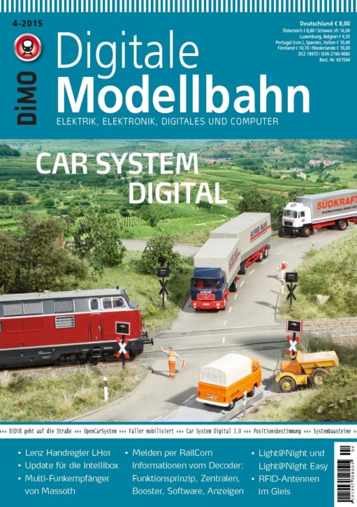 Digitale Modellbahn 4-2015. Car System Digital
