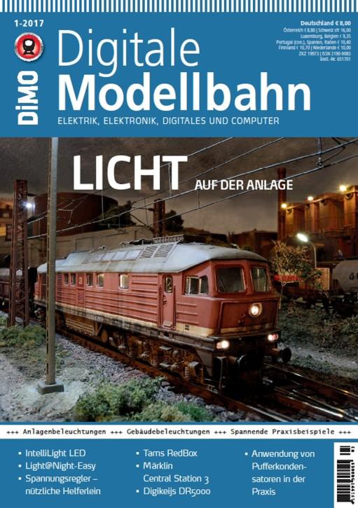 Digitale Modellbahn 1-2017. Licht auf der Anlage