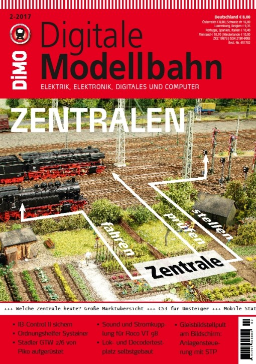 Digitale Modellbahn 2-2017. Digitale Zentralen