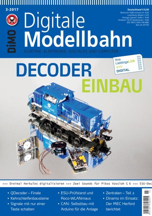 Digitale Modellbahn 3-2017. Decodereinbau