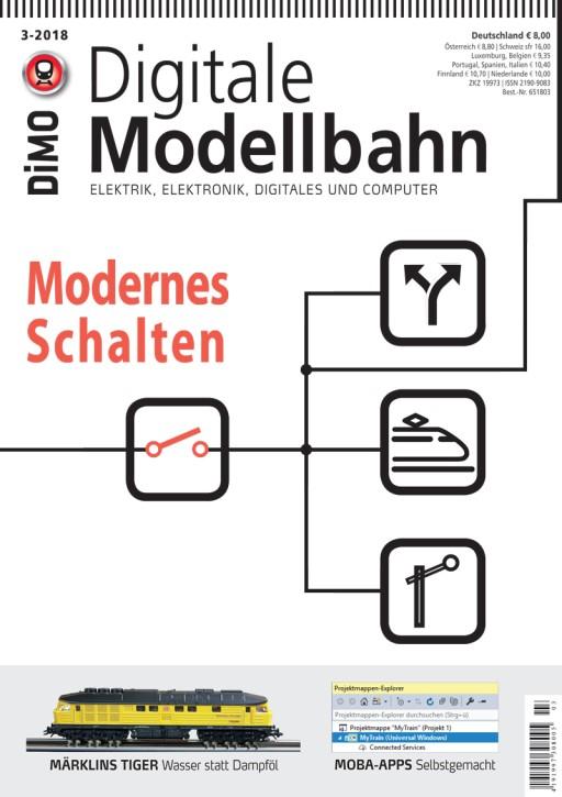 Digitale Modellbahn 3-2018. Modernes Schalten