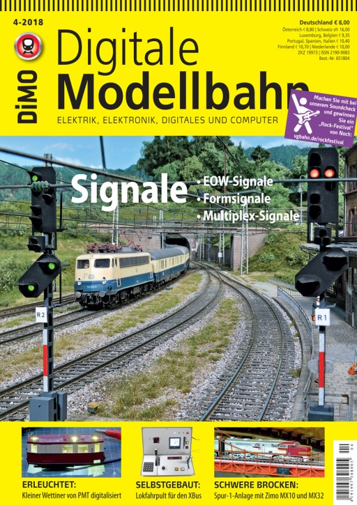 Digitale Modellbahn 4-2018. Signale