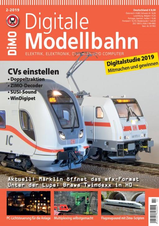 Digitale Modellbahn 2-2019: CVs einstellen