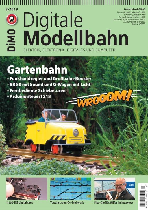 Digitale Modellbahn 3-2019: Gartenbahn