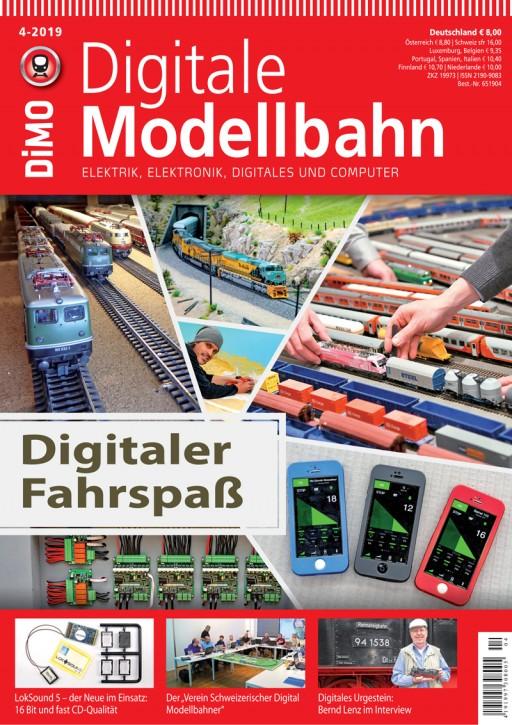 Digitale Modellbahn 4-2019: Digitaler Fahrspaß