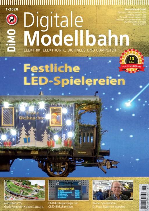 Digitale Modellbahn 1-2020: Festliche LED-Spielereien