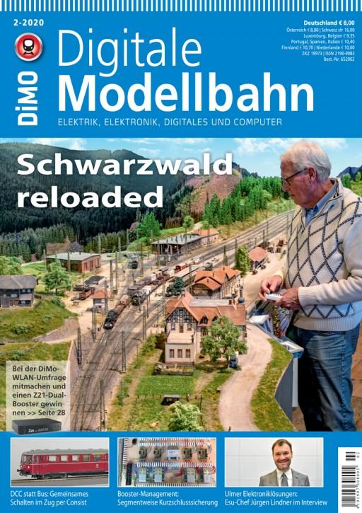 Digitale Modellbahn 2-2020: Schwarzwald reloaded