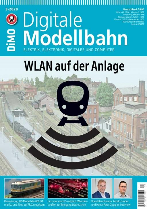 Digitale Modellbahn 3-2020: WLAN auf der Anlage