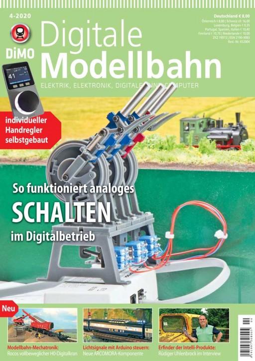 Digitale Modellbahn 4-2020: So funktioniert analoges Schalten im Digitalbetrieb
