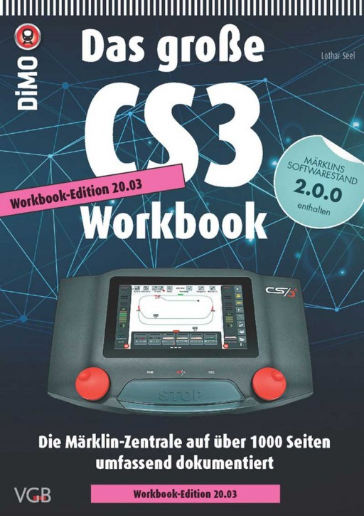CD-Rom: Das große CS3-Workbook Edition 20.03 inkl. Märklins CS3-Softwareversion 2.0.0