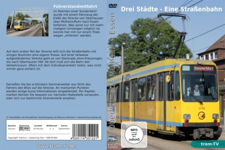 DVD: Drei Städte - Eine Straßenbahn