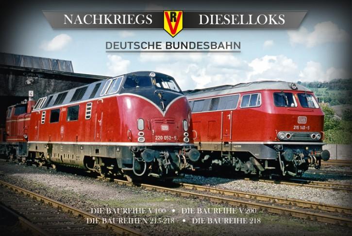 4er-DVD-Box: Nachkriegs-Dieselloks Deutsche Bundesbahn. Baureihe V 100 - Baureihe V 200 - Baureihen 215-218 - Baureihe 218