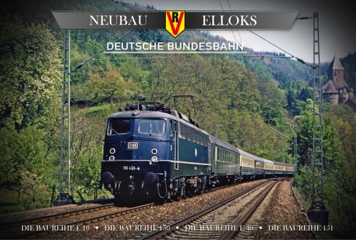 4er-DVD-Box: Neubau-Elloks Deutsche Bundesbahn