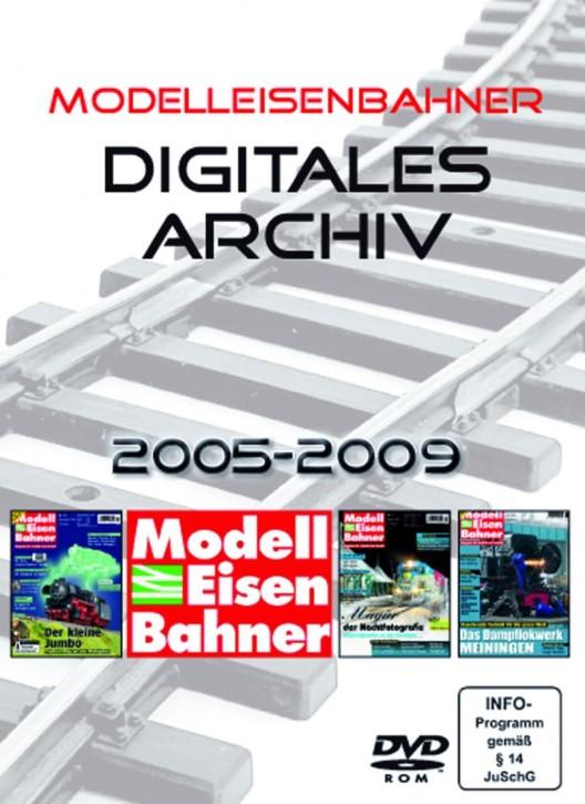 DVD-Rom: Das digitale Modelleisenbahner-Archiv
