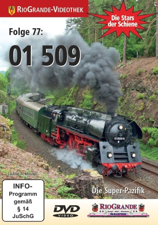 DVD: Stars der Schiene Folge 77. 01 509 - Die Super-Pazifik