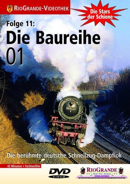 DVD: Stars der Schiene 11. Die Baureihe 01 - Schnellzug-Dampflok