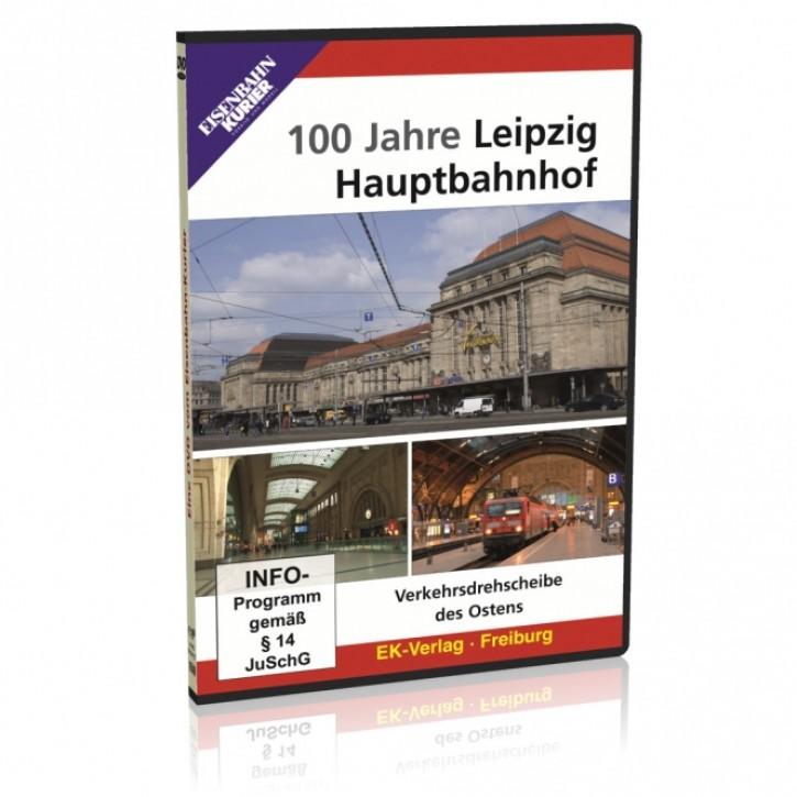 DVD: 100 Jahre Leipzig Hauptbahnhof. Verkehrsdrehscheibe des Ostens