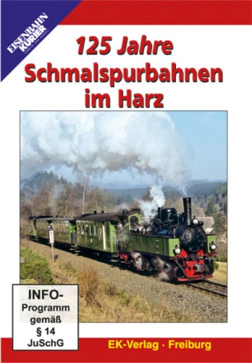 DVD: 125 Jahre Schmalspurbahnen im Harz