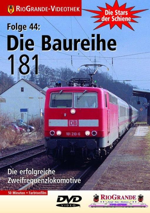 DVD: Stars der Schiene 44. Die Baureihe 181