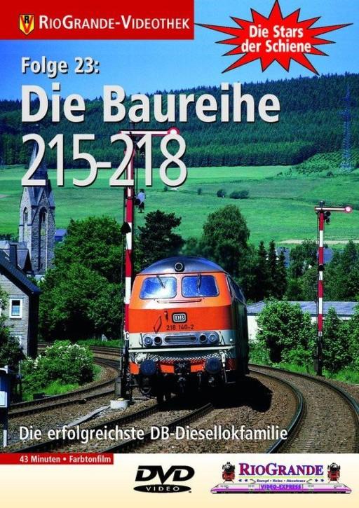 DVD: Stars der Schiene 23. Die Baureihen 215-218 - DB-Standarddieselloks