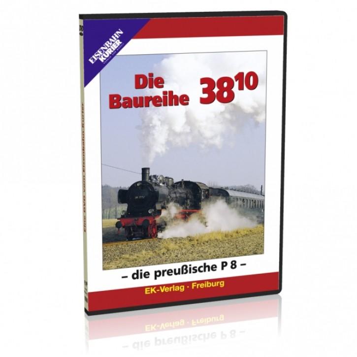 DVD: Die Baureihe 38.10 - die preußische P8