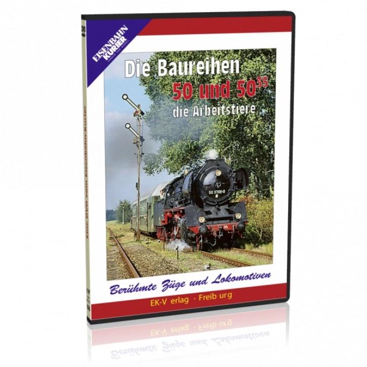 DVD: Die Baureihen 50 und 50.35 - die Arbeitstiere