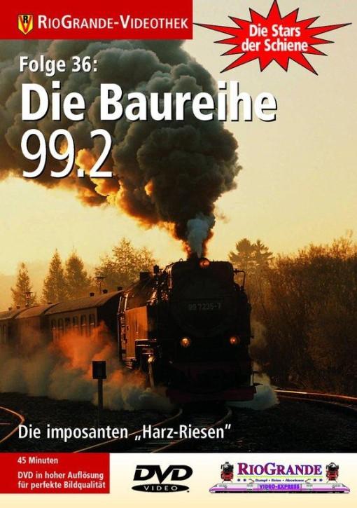 """DVD: Stars der Schiene 36. Die Baureihe 99.2 - Die imposanten, fünffach gekuppelten """"Harz-Riesen"""""""