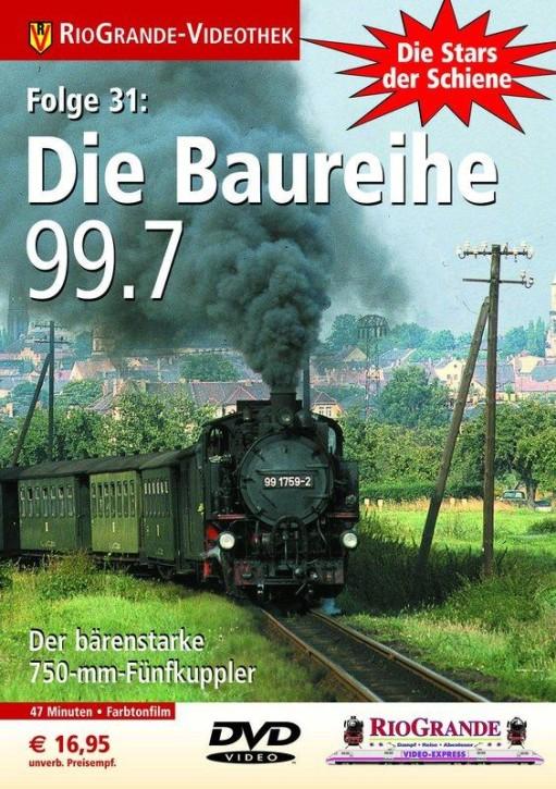 DVD: Stars der Schiene 31. Die Baureihe 99.7 - Der bärenstarke 750-mm-Fünfkuppler