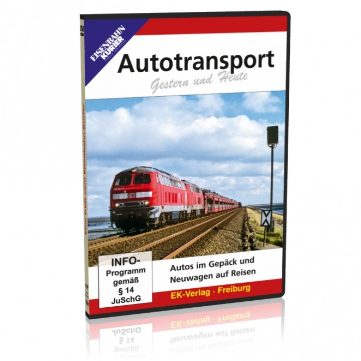 DVD: Autotransport Gestern & Heute. Autos im Gepäck und Neuwagen auf Reisen