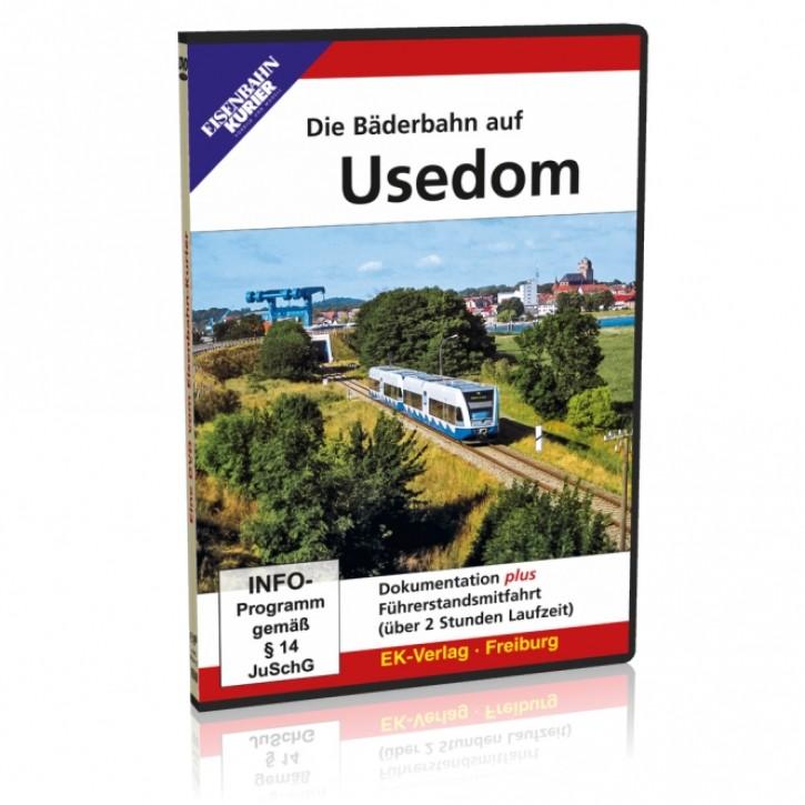 DVD: Die Bäderbahn auf Usedom plus Führerstandsmitfahrt Swinemünde - Wolgast-Hafen