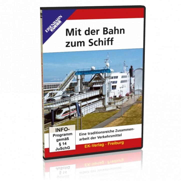 DVD: Mit der Bahn zum Schiff. Eine traditionsreiche Zusammenarbeit der Verkehrsmittel