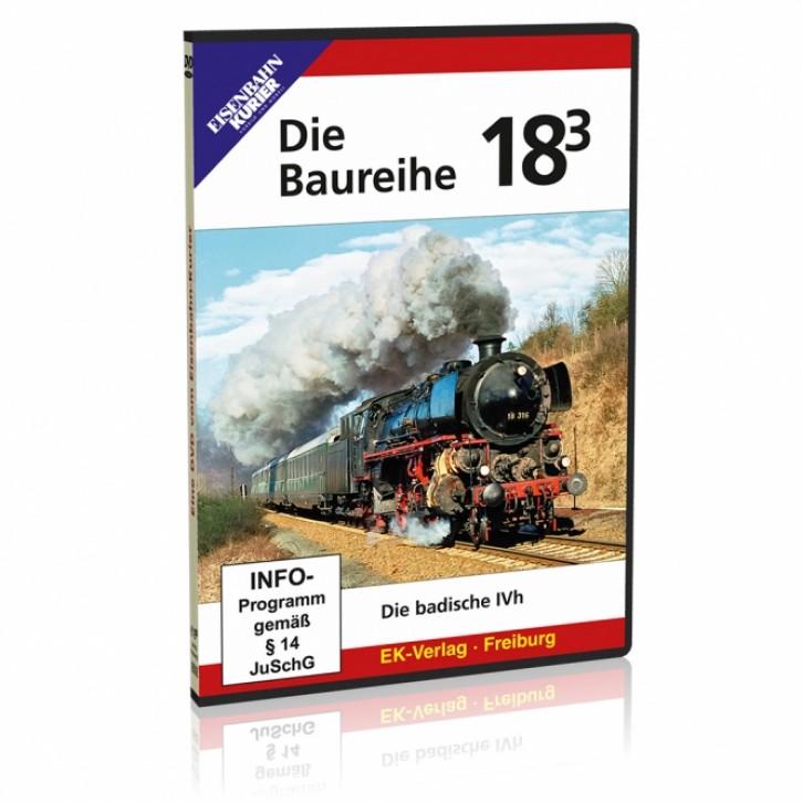 DVD: Die Baureihe 18.3. Die badische IVh