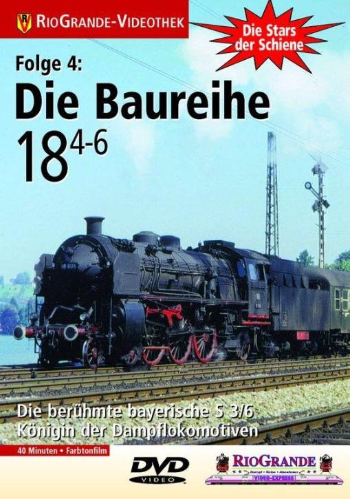 DVD: Stars der Schiene 4. Die Baureihe 18.4-6 - Die Bayerische S 3/6