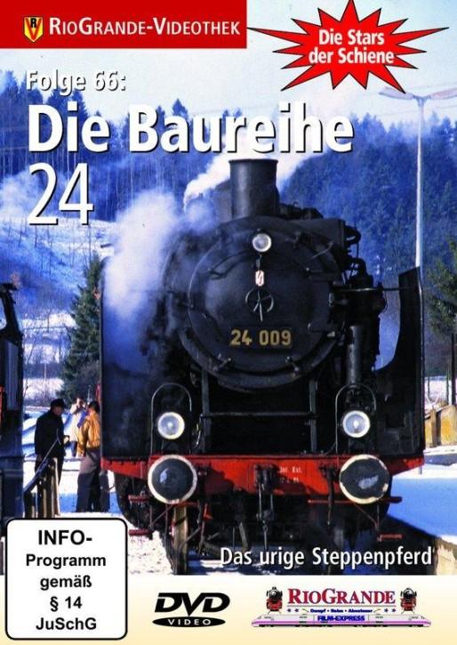 DVD: Stars der Schiene 66. Die Baureihe 24. Das urige Steppenpferd