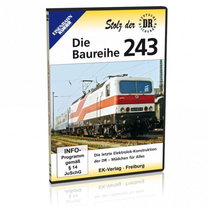 DVD: Die Baureihe 243. Die letzte Großserien-Lokomotive der DR. Mädchen für alles
