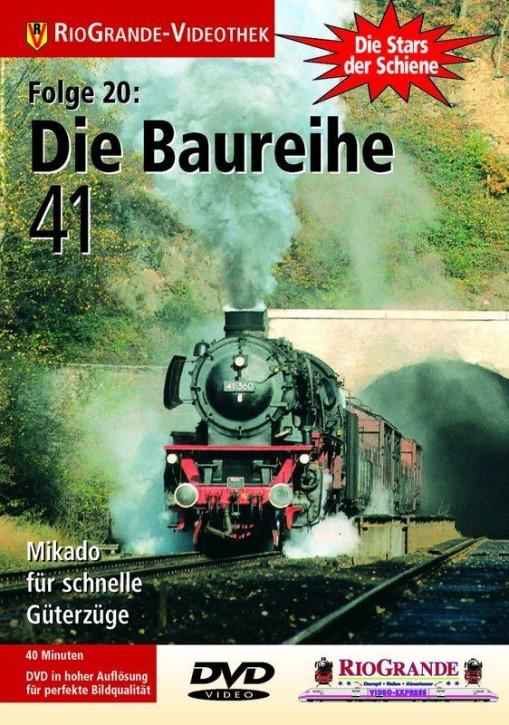 DVD: Stars der Schiene 20. Die Baureihe 41. Mikado für schnelle Güterzüge